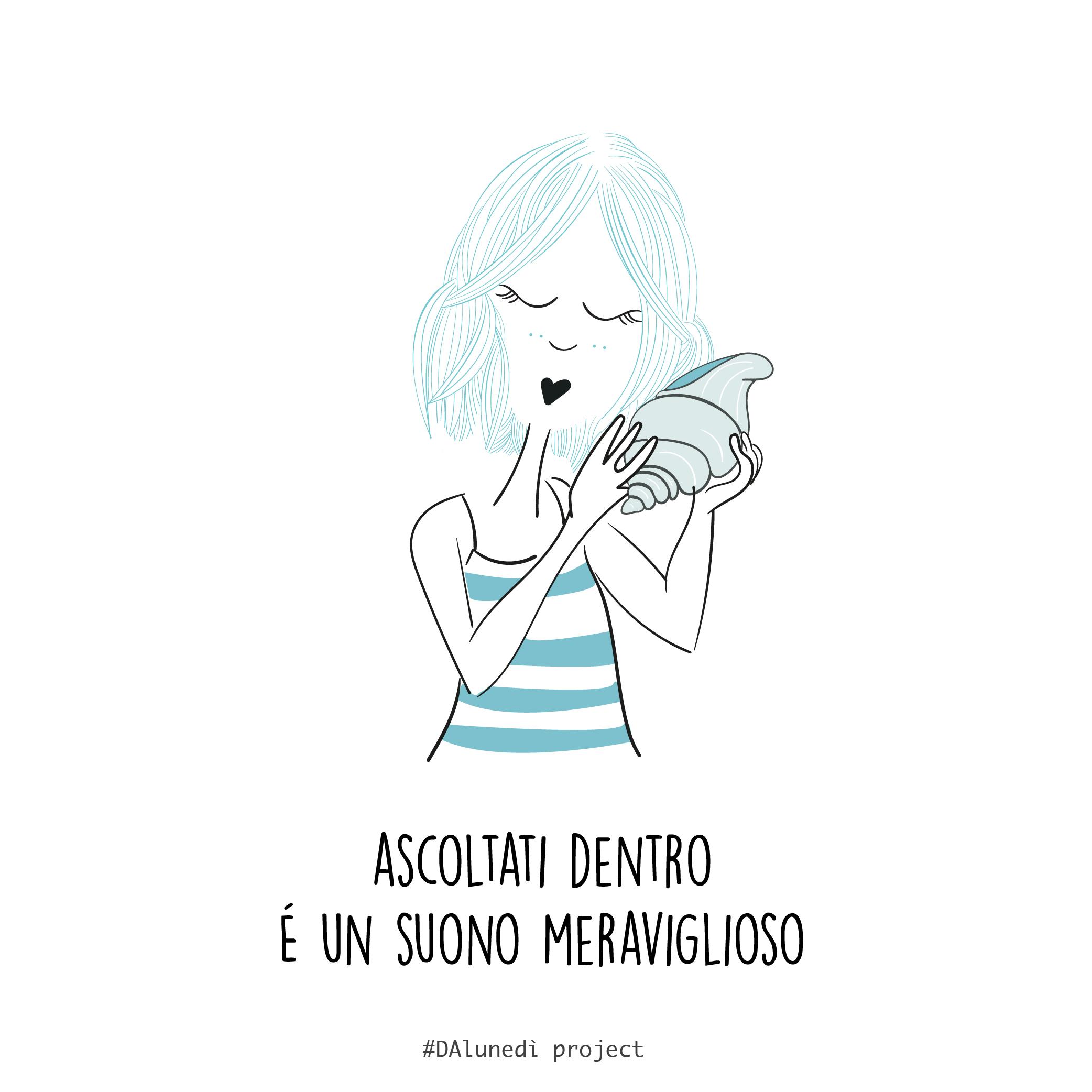 ascoltati dentro Dalunedì project illustrazioni Disturbi Alimentari