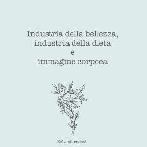 Industria della bellezza e immagine corporea